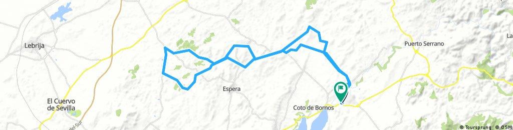 Circular Lagunas de Espera, Hoyo de los Pavos, El Taraje, Amarguillo, Villamartin