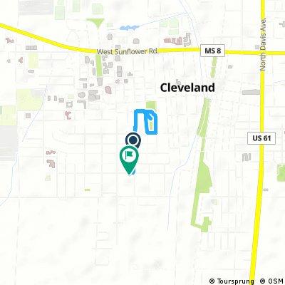 Brief bike tour through Cleveland