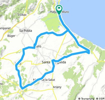 60 km RoadBIKE-Festival Strecke GPX