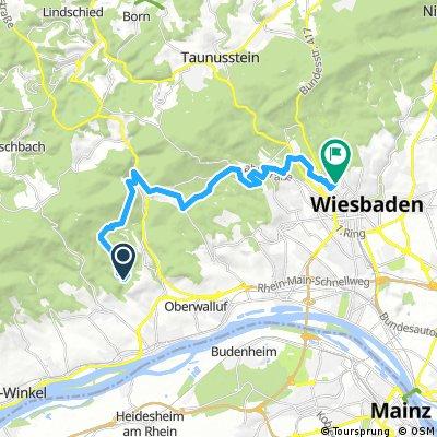 Von der Rausch über Georgenborn nach Wiesbaden