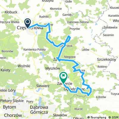 Cycling Silesia: Eagles' Nests Trail