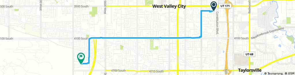 Short ride through West Valley City