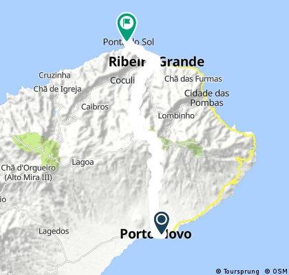 porto novo - Ponta do Sol