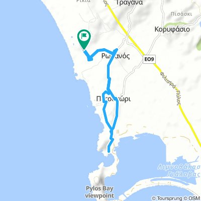 BIKE TREKKING – VOIDOKILIA BEACH