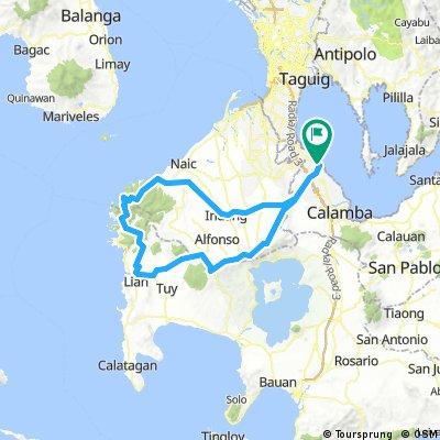 Sta. Rosa - Silang-Indang-Maragondon-Kaybiang Tunnel Loop