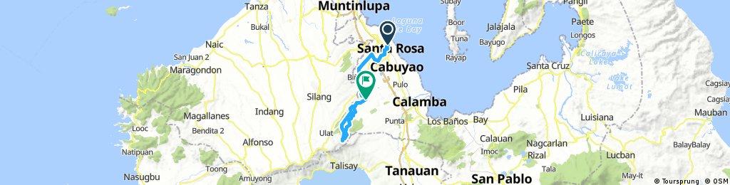 Sta. Rosa Laguna - Peoples Park in the Sky (Palace in the Sky) - Dapdap East via Casile Cabuyao Laguna