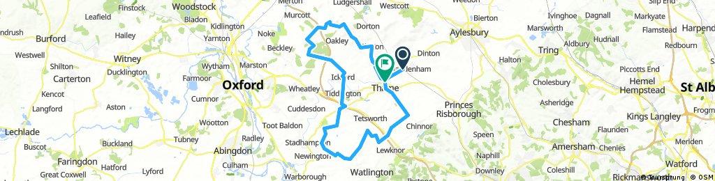 13. Thame(Haddenham),Oxfordshire