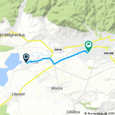 Brief bike tour from Săsar to Baia Mare