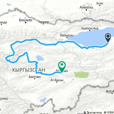 Kirgistan 2.0 80 rowerow