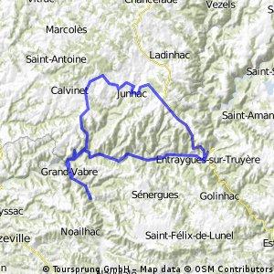 Montsalvy, Auvergne