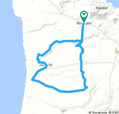 Biking - Kormacit - Blue Trail
