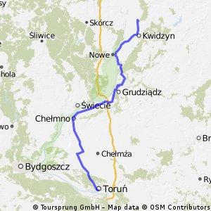 Bialy Dwor (Kwidzyn) – Torun