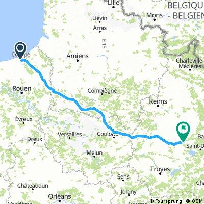 1 Dieppe - Vitry-le-Francoise 18