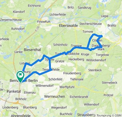 P5 - Märkische Weichsel – Eiszeitstrasse - ESV Lok Schöneweide Berlin