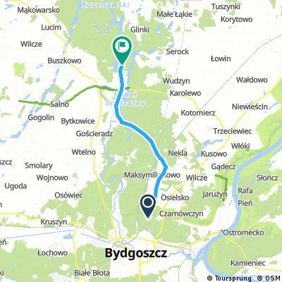 Bydgoszcz - Samociążek - Pieczyska