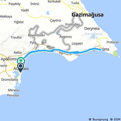 Larnaca - AyiaNapa - Larnaca