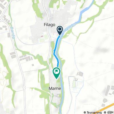 Da Filago a Marne