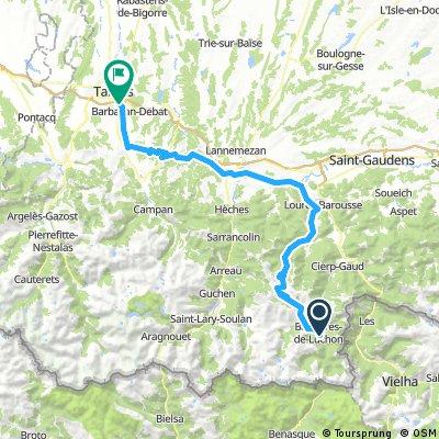 #Pyrenees 8.0 Bagnières de Luchon - Tarbes