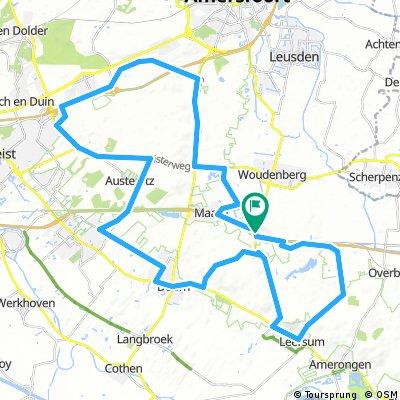 Utrechtse Heuvelrug vanaf carpool Maarsbergen
