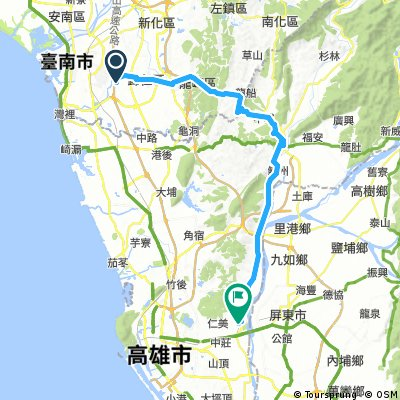 台南-旗山-九曲堂