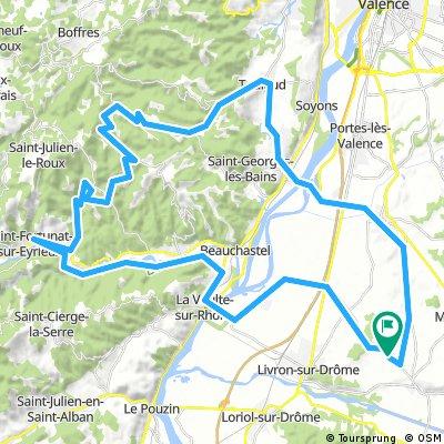 Allex-Gilhac et Bruzac-Camping Plein Sud- Allex