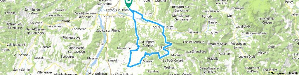 Allex - Crest - Puy Staint Martin - Grane - Allex