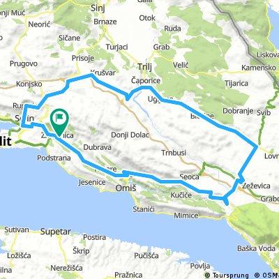 Tour de Cista, Šestanovac y Kostanje