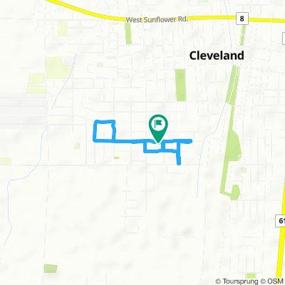 Brief ride through Cleveland