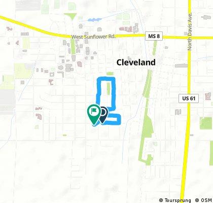Quick bike tour through Cleveland