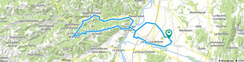 Allex - über d. Rhone - Ch. de Bavas - Allex