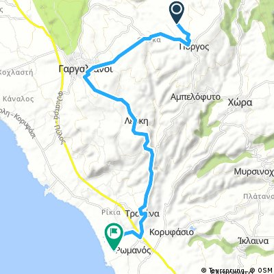 Messinia Wild Cycling Tour