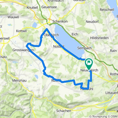 LU Neuenkirch - Ruswil - Sursee - Neuenkirch