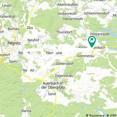 Landkreis NEW/BT/AS einige Steigungen!