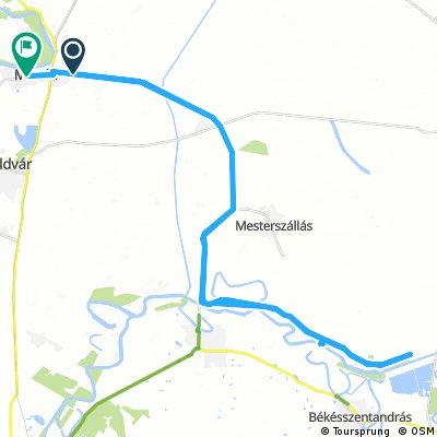 Long ride through Martfű