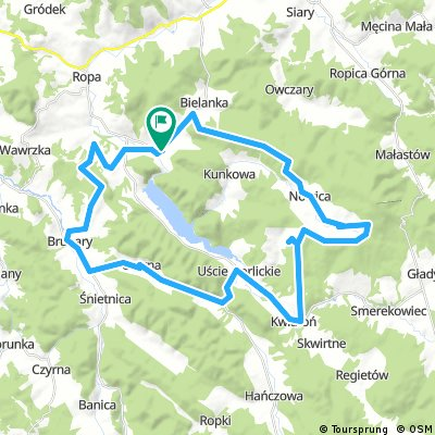 Zabytkowe cerkwie - trasa rowerowa wokół jeziora Klimkówka
