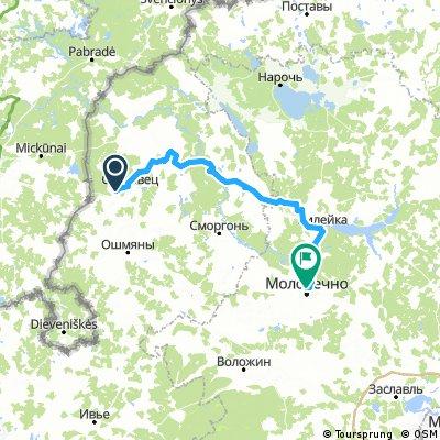 ГУДОГАЙ-ГЕРВЯТЫ-ВИЛЕЙКА-МОЛОДЕЧНО - 123 км