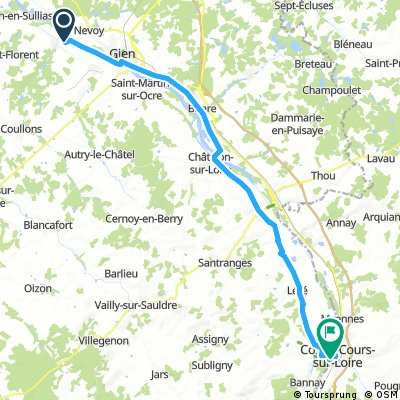 038 April 16th: Saint Gondon to Cosne-sur-Loire