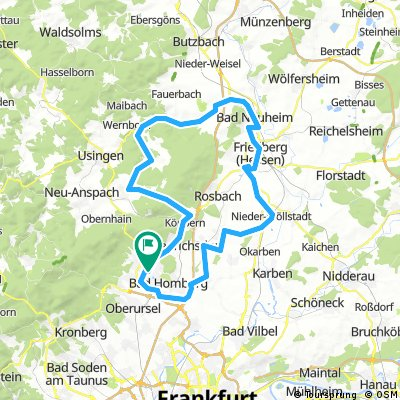 Taunus/Teil Ironman Strecke