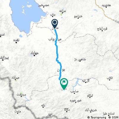 08 - Malekan - Saqqez (113 km, 490 m)
