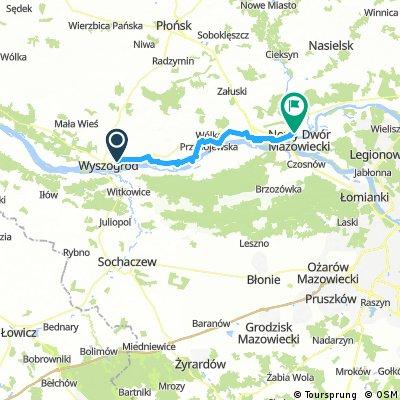 Sochaczew - Czerwińsk - Modlin (Poland)