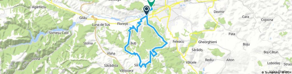Long bike tour through Cluj-Napoca
