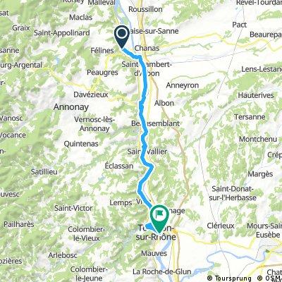 Sablons à Tournon-sur-Rhône