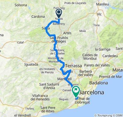 Cursa Ciclista del Llobregat Navàs-Sant Boi