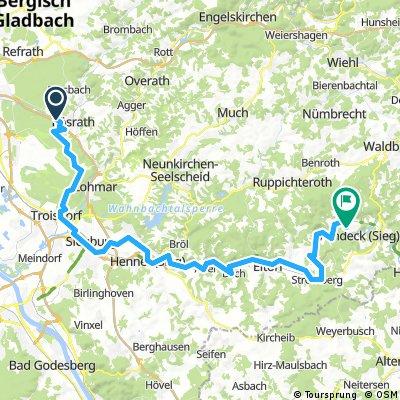 Sieg Radtour zum Dattenfelder Hof
