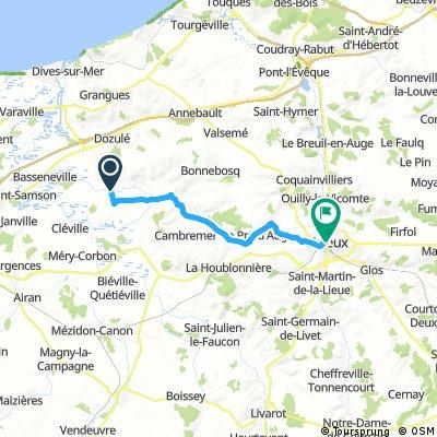 Day 2 - Beuvron-en-Auge to Lisieux