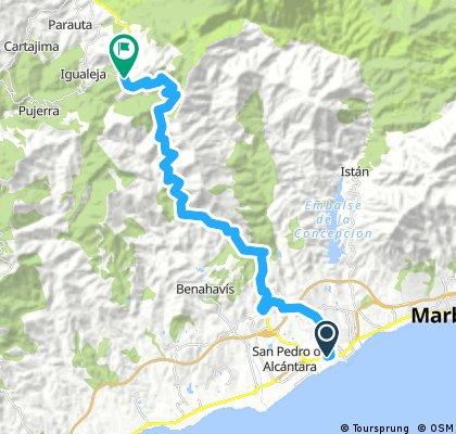 Banus - Ronda 66km