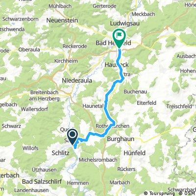 Wartburg Teil 3 über Hünfeld