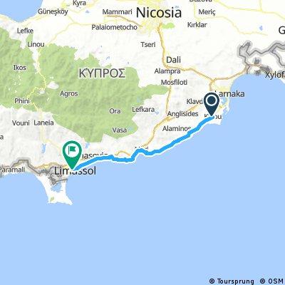 Larnaca to Limasol