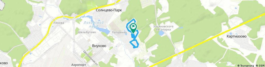 Short ride through Московский