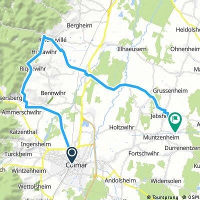 05/09 COLMAR /RIQUEWIHR/RIBEAUVILLE 18.5 KM